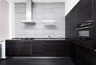 Kitchen+Designs+With+Black+Appliances-Dark+Wood+Minimalist