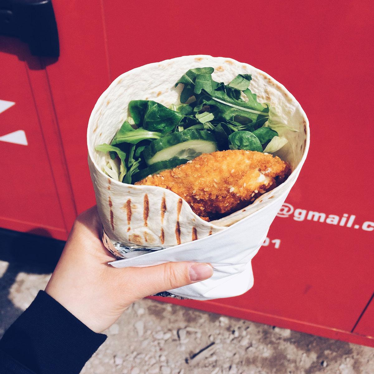 Food truck Kołowóz i ich kurczaktilla.