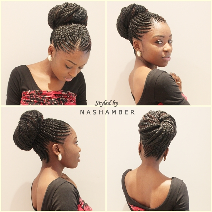 Surprising Ghana Braids Are Back Nash Amber Hairstyles For Women Draintrainus