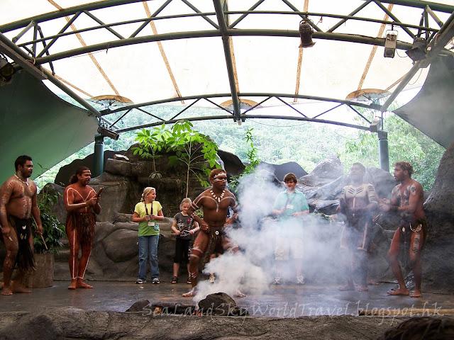 土著文化公園 Tjapukai Aboriginal Cultural Park
