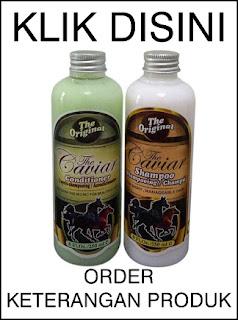 Jual paket shampoo dan conditioner caviar shampoo kuda original dengan harga termurah, dijamin mengatasi rambut rontok dan botak secara cepat alami ok