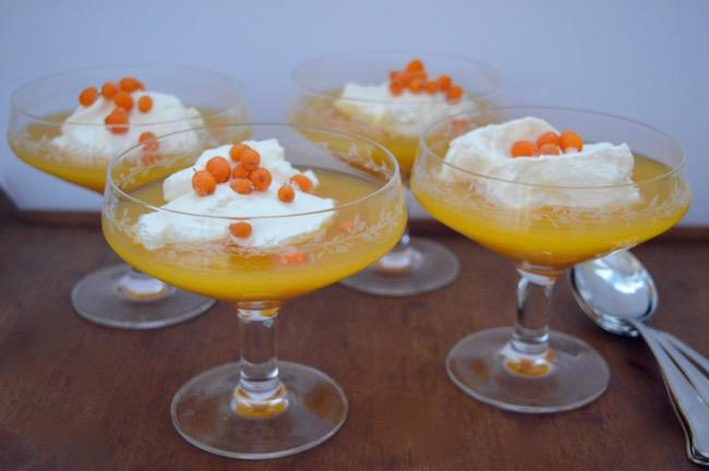 tyrni-appelsiinikiisseli