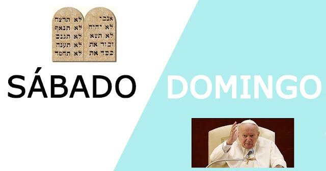 Sabado ou domingo na Biblia