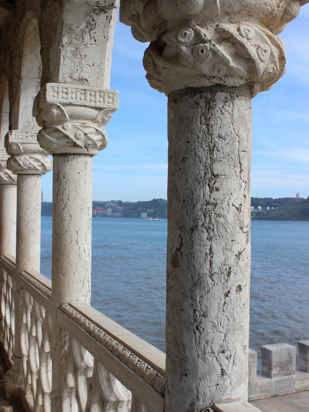 Lissabon Lisbon Lisboa Travel Diary Reise Bericht Tipps Torre de Belem Tower Balcony Kings Room