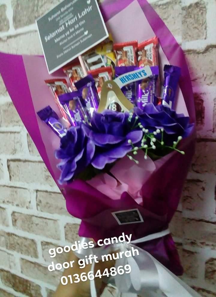 Bouquet coklat murah seremban