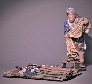 vendedor telas