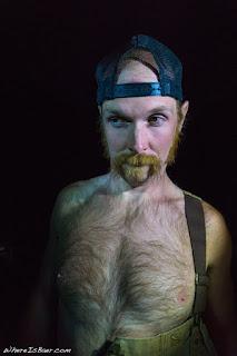 WhereIsBaer.com Chris Baer Grand Canyon of the Colorado AZ Arizona, Brad McMillian , mustache funny shirtless
