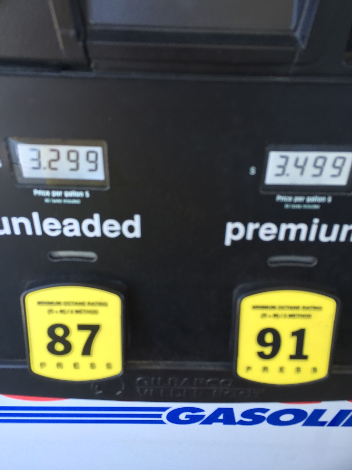 Current Costco Gas Prices Apr 30 2015 South San