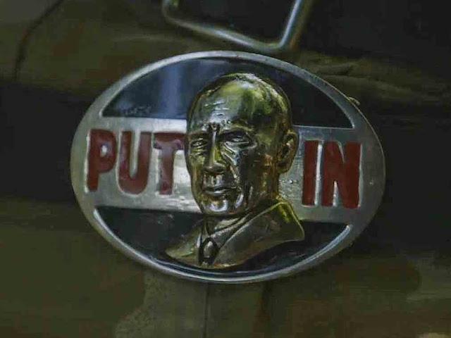Fivela de mercenário pró-Putin