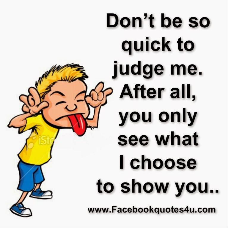 Quick Quote: Quick To Judge Quotes. QuotesGram