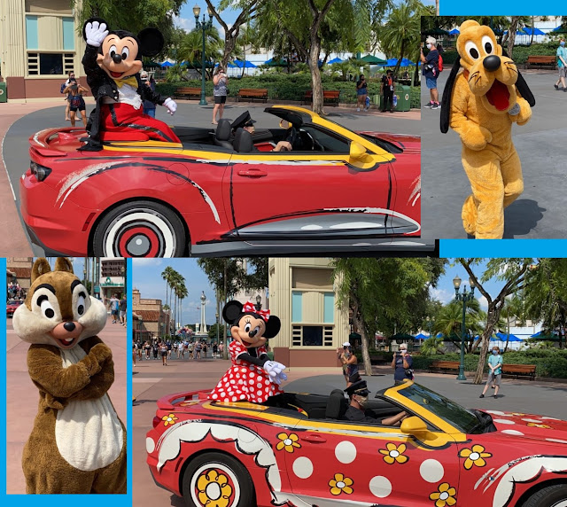 Mickey and Friends Motorcade Disney's Hollywood Studios Phased Reopen Walt Disney World Resort