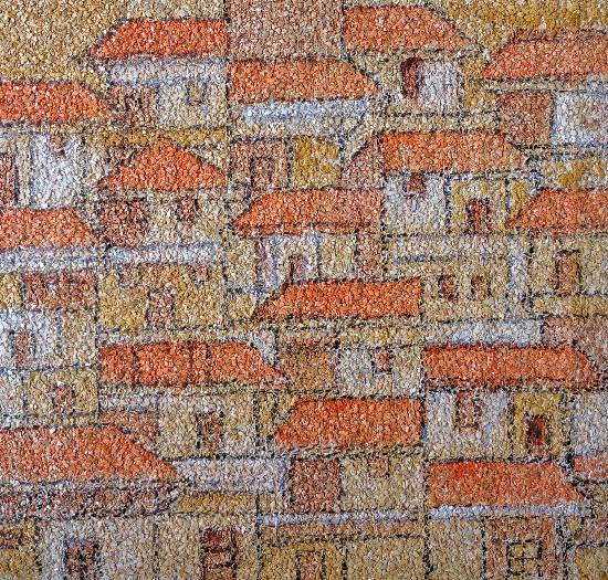 Untitled - 5, painting by Natu Mistry, available for preview at Indiaart Gallery, Pune