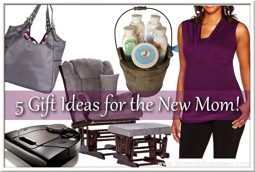 5 thoughtful gift ideas for the new mom