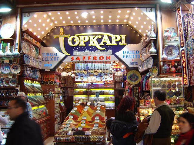 Spice Shop Istanbul Turkey