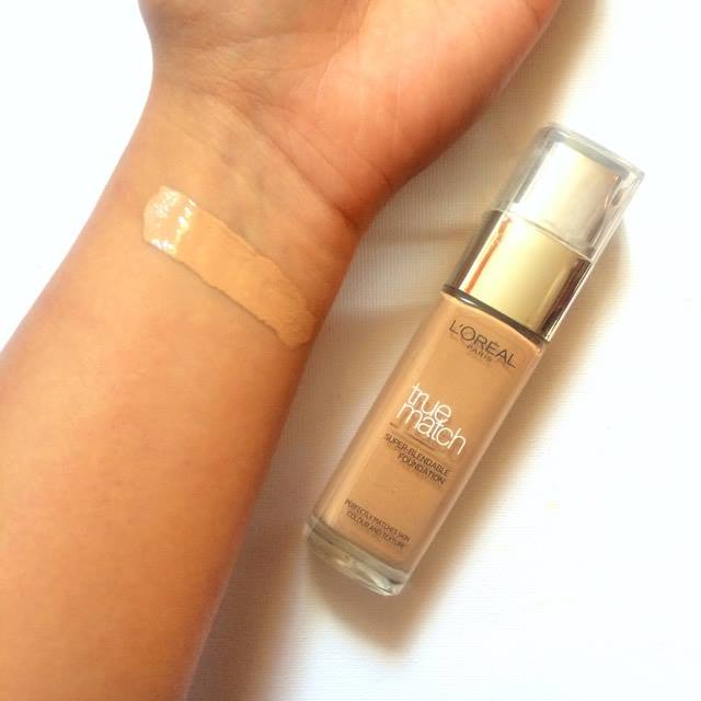 Review Before And After Loreal True Match Foundation Shade 5w