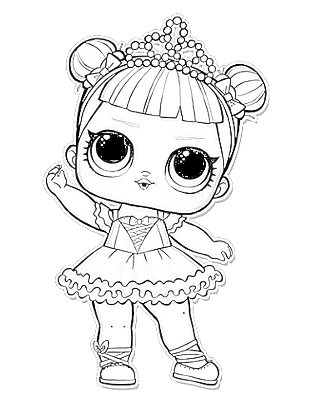 coloring pages: l.o.l. surprise coloring pages free and