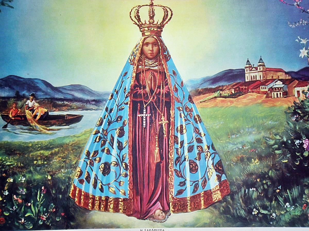 Nossa Senhora: NOSSA SENHORA APARECIDA, PADROEIRA E RAINHA DO BRASIL