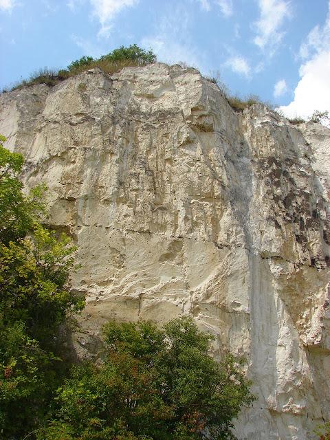 Меловая скала, село Чепель