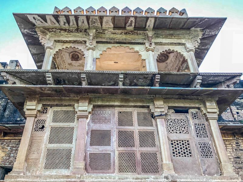 Facade of Purani Kutchery
