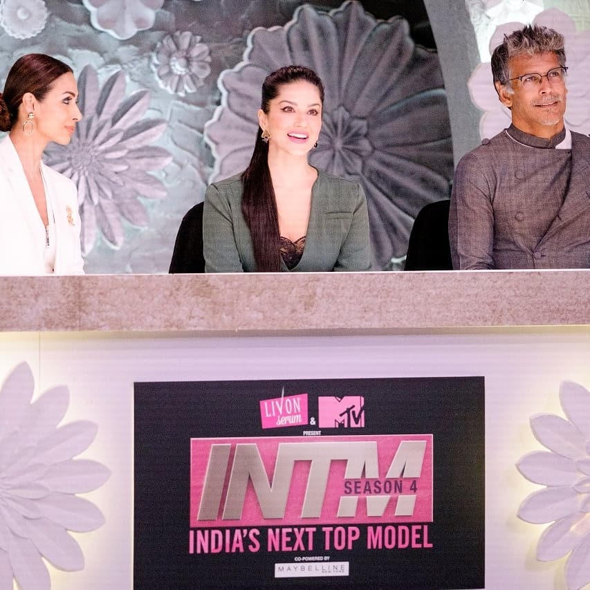 Sunny Leone Exclusive Photos in India's next top model