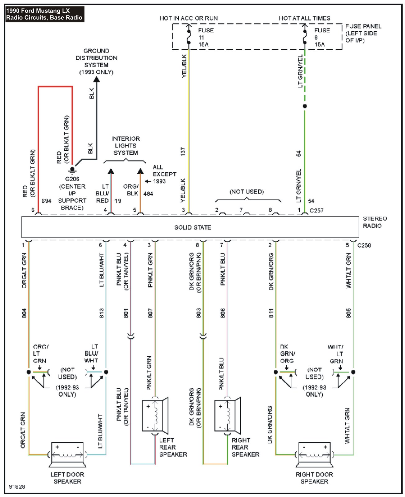 horn wiring diagram