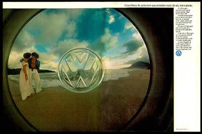 Volkswagen, volks, vw,  anos 70.  brazilian advertising cars in the 70. história da década de 70; Brazil in the 70s; propaganda carros anos 70; Oswaldo Hernandez;