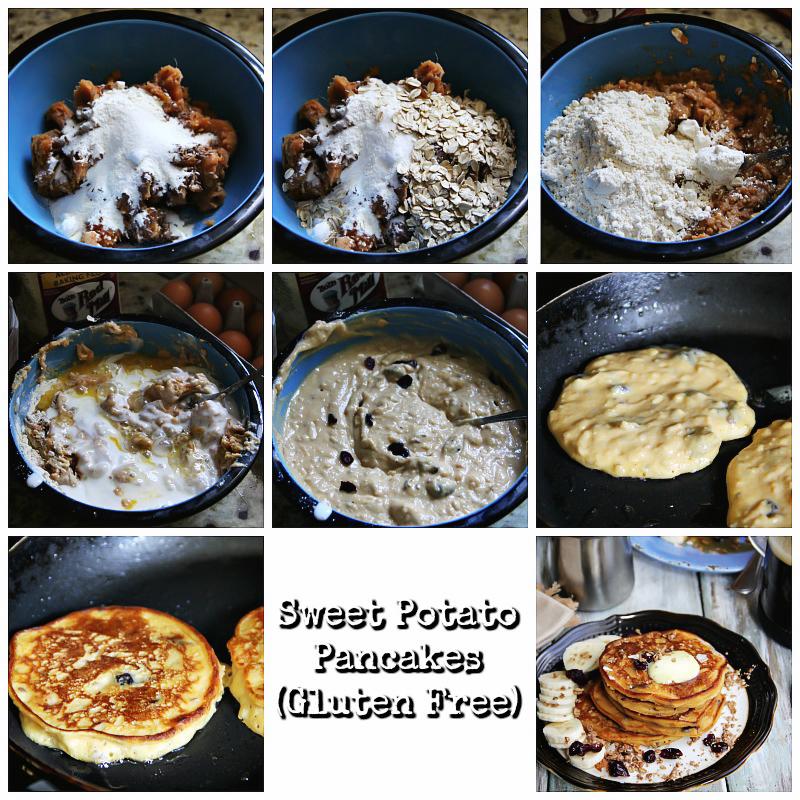 Sweet Potato Pancakes (Gluten Free) #recipe