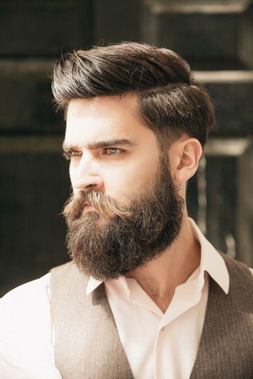 Moda Cabellos Peinados 2016 para hombres con la barba muy larga ¡Sorpréndete