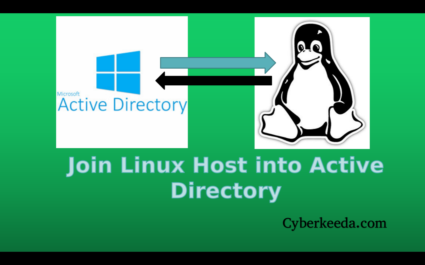 CyberKeeda: Join Linux into Windows Active Directory domain
