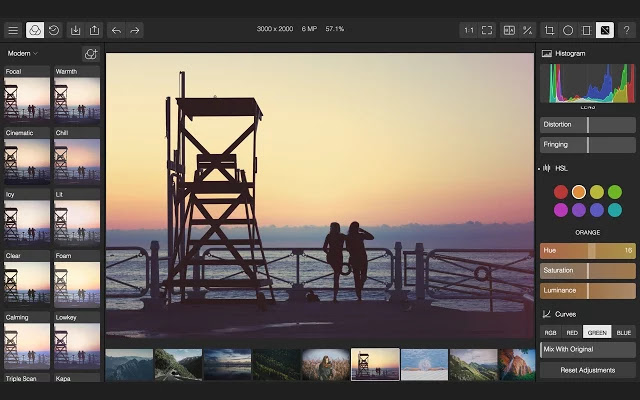 Polarr Photo Editor Chrome