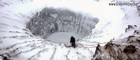 Újabb rejtélyes krátereket fedeztek fel Szibériában