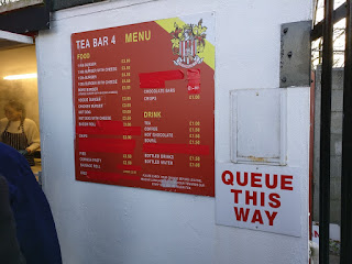 Pie Menu at Stevenage FC