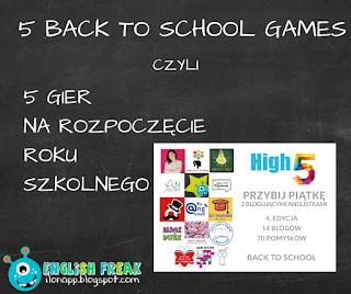 5 back to school games 5 gier na rozpoczęcie roku szkolnego