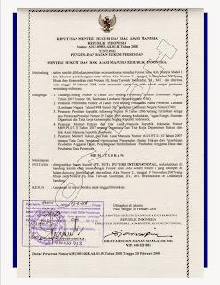 Raden Blog S Legal Aspek Pembuatan Akta Dagang Dan Contoh Akta Dagang