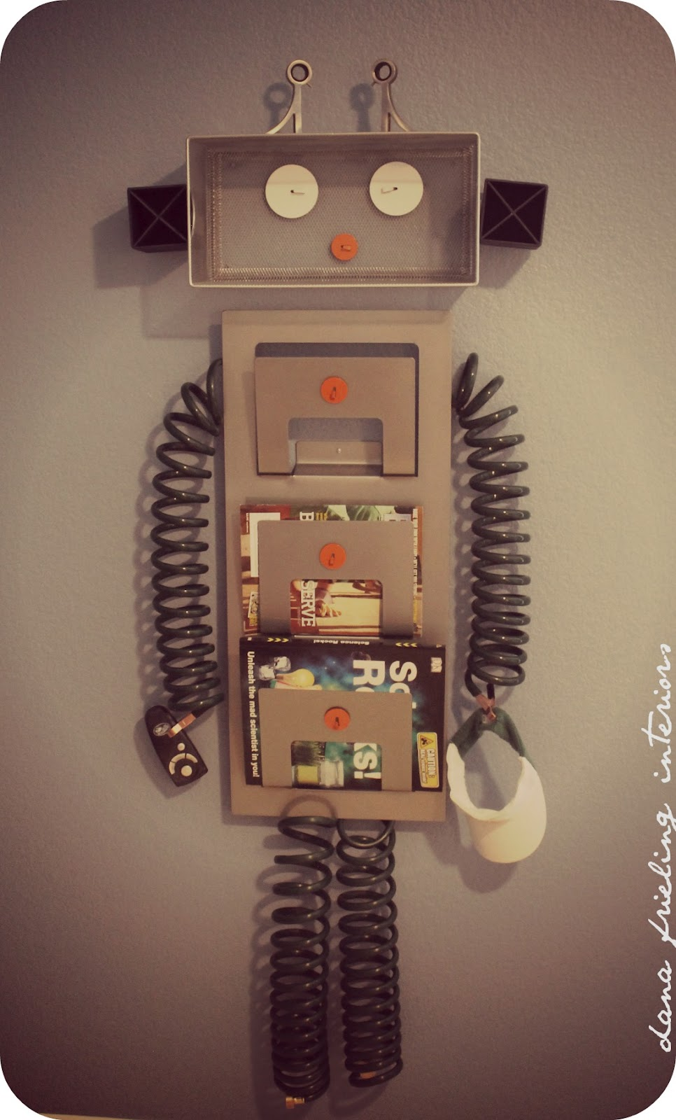 Make them wonder how to create your own robot decor - Create your own room ...
