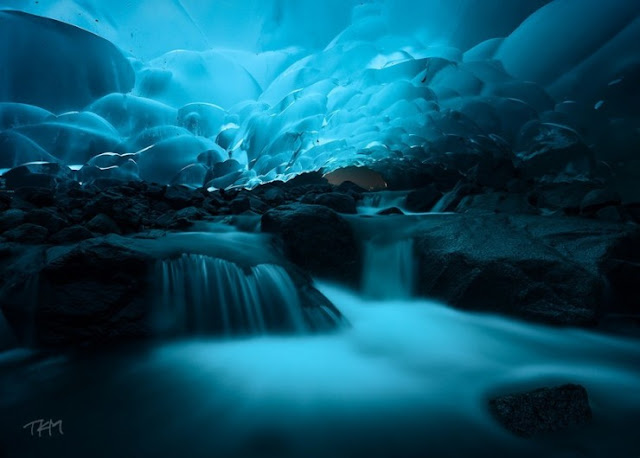 Es Gua Mendenhall, Juneau, Alaska, Amerika Serikat