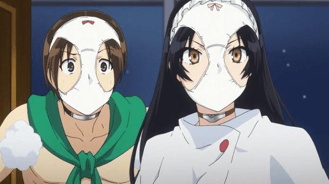 Selain sarat dengan unsur komedi, Shimoneta punya unsur sedikit ecchi