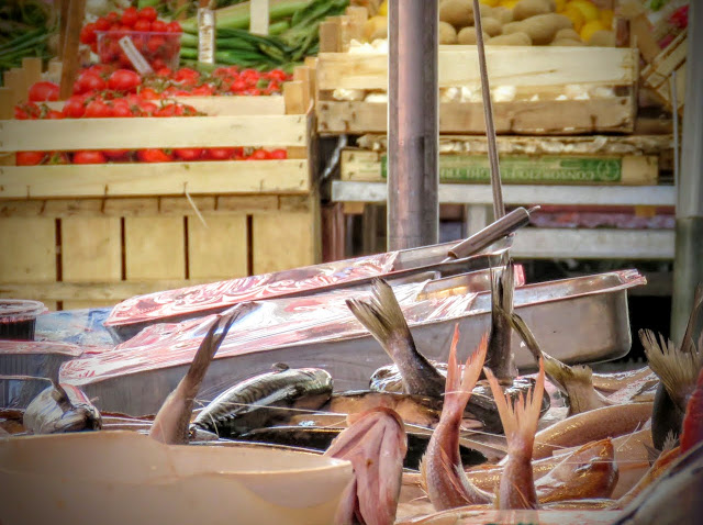 Streat Palermo Tour Sicily - fish tails