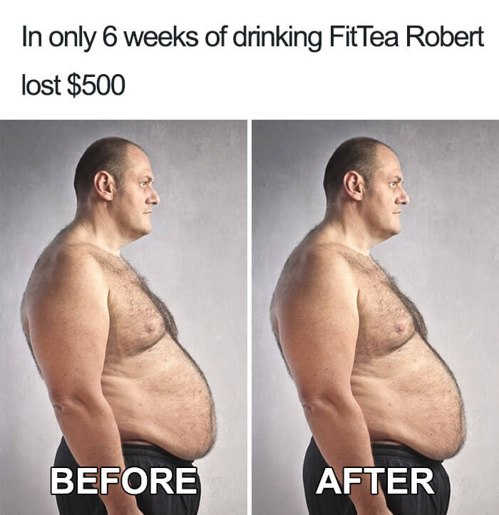 Hilarious Life Progress Pictures Posted Online That Made Us Laugh Out Loud - Progress: Fit Tea