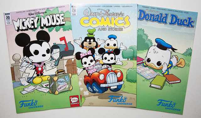 Disney comics with Funko Univers cover variants