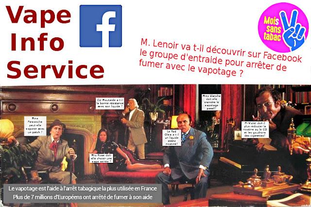 Le groupe facebook Vape Info Service