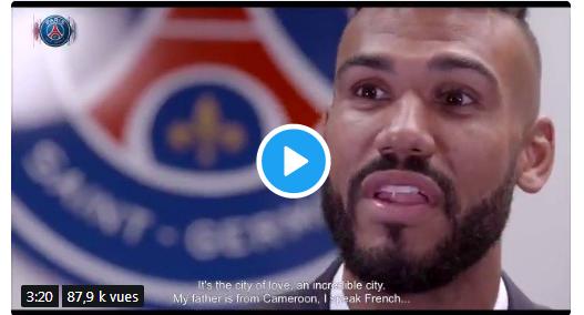 Vidéo - Découvrez La première interview d'Eric Maxim Choupo-Moting au PSG