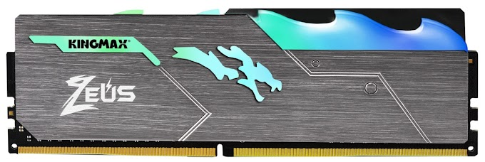 Kingmax Unleashes the Zeus Dragon DDR4 RGB Gaming Memory Module