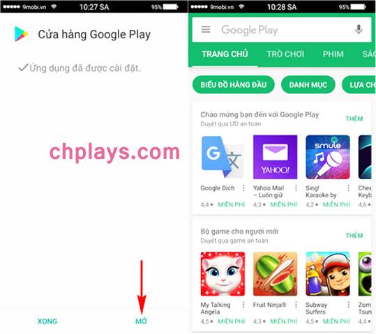 Cập nhật và Cài Cửa Hàng Ch PLay trên bất kỳ máy Samsung Android nào e