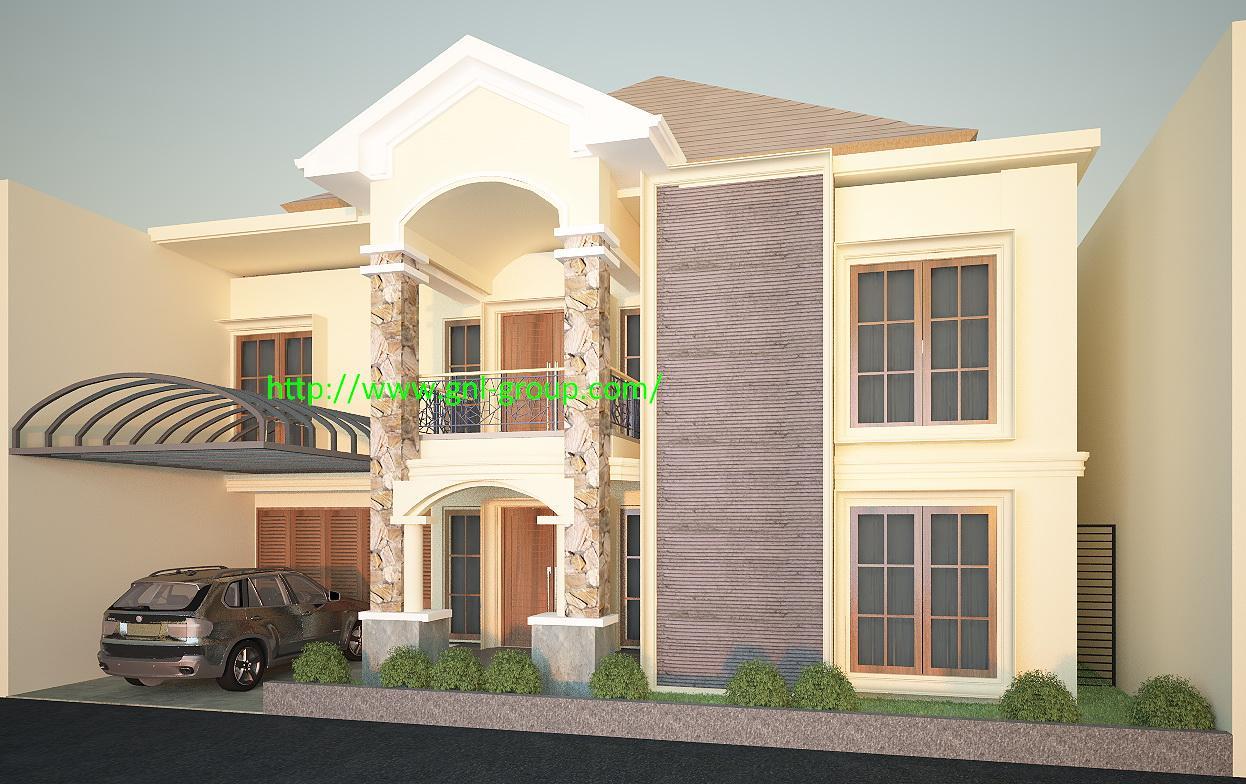 Desain Rangka Rumah Minimalis