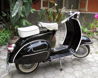 modifikasi vespa excel
