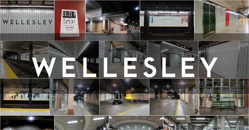 Wellesley station photo gallery