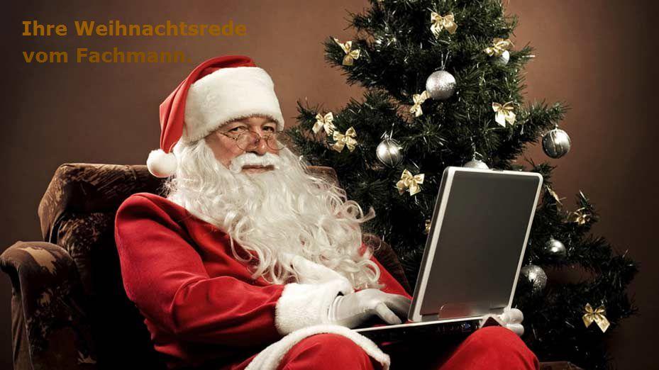 Lustige Weihnachtsrede (Beispiel Firma)