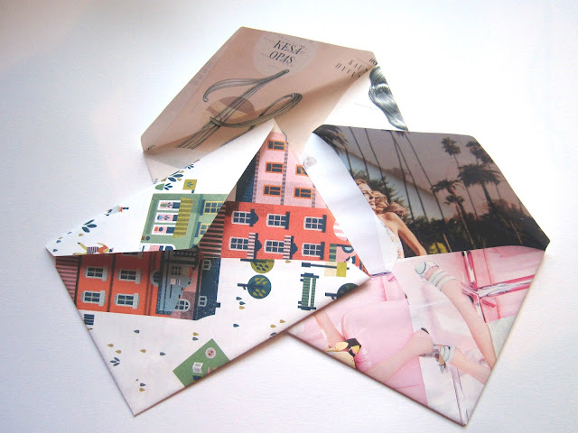 handmade envelopes