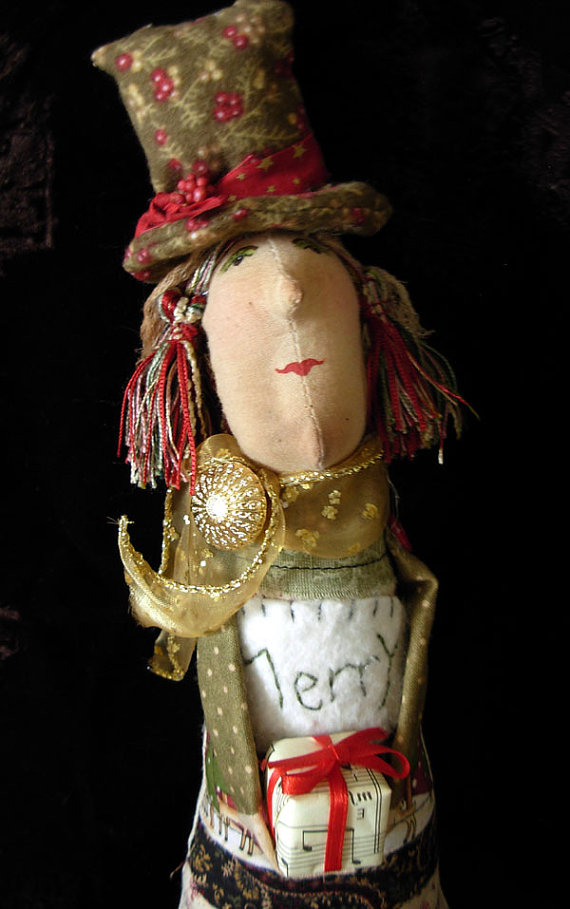 Merry, an Art Doll
